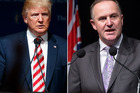 Prime Minister John Key condemned Donald Trump's comments, captured on video in 2005 and released over the weekend. Photos / AP / Mark Mitchell