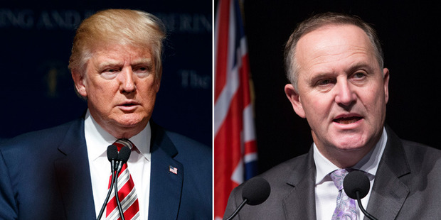 Loading Prime Minister John Key condemned Donald Trump's comments, captured on video in 2005 and released over the weekend. Photos / AP / Mark Mitchell