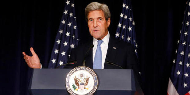 US Secretary of State John Kerry has called for Russia and Syria to be investigated for war crimes. Photo / AP