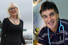 Christine Rankin and Dr Johan Morreau are among the new faces on the Lakes District Health Board.  Photo/File