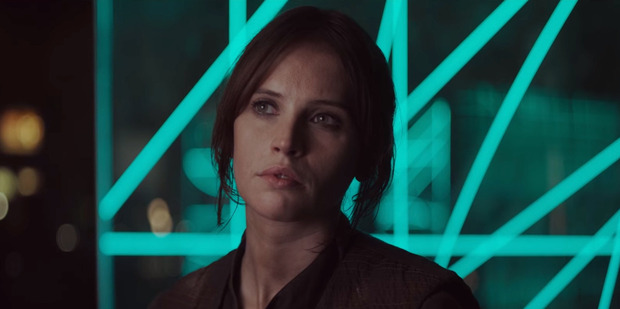 Actress Felicity Jones stars in the upcoming movie, Rogue One: A Star Wars Story.