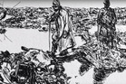 A scene from Mina Bixley's 'Passchendaele on a Personal Scale