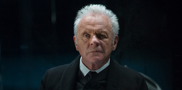Anthony Hopkins plays a key role in HBO's Westworld, Dr Robert Ford the creator of a futuristic sci-fi theme park and potential inventor of artificial intelligence.