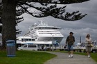 Sun Princess docked in at the Tauranga Port at about 7.15am this morning. PHOTO/GEORGE NOVAK