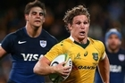 Australia has finished second in the Rugby Championship after beating Argentina 33-21 at Twickenham. Source: Sky Sport