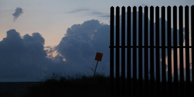 Fences cover more than 1125km of the nearly 3220km-long-border between the US and Mexico. Photos / Washington Post