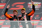 Winners of the 2016 Bathurst 1000 Will Davison and Jonathon Webb. Photosport