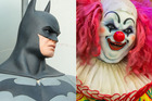 'Batman' is trying to single-handedly end the 'killer clowns' craze. Photo / 123rf