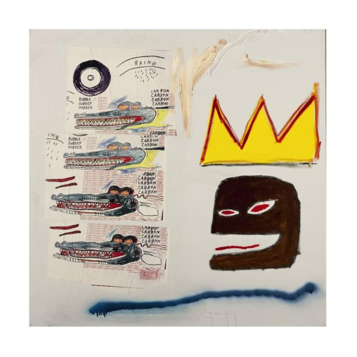 Jean-Michel Basquiat, Untitled, 1984. Photo / Sotheby's