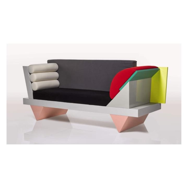 Peter Shire, Big Sur sofa. Photo / Sotheby's