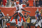 The Cleveland Browns will struggle again this week according to NFL oracle Marc Peard. Photo / AP