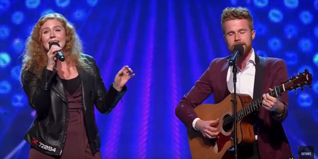Sibling duo Isla and Finley Brentwood on the X-Factor Australia. Photo / Youtube
