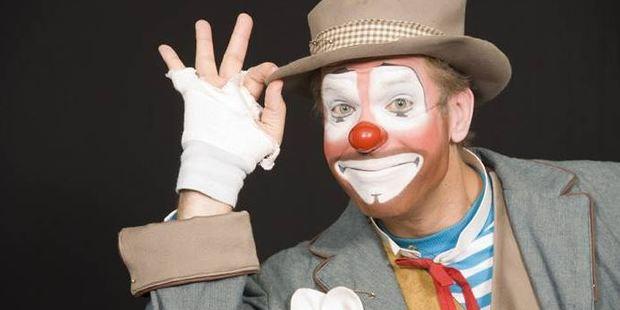 World Clown Association president Randy Christensen. Photo / Supplied