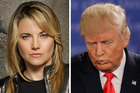 Lucy Lawless rebuffed the advances of Donald Trump in 1997 but he took it 'like a gentleman'. Photo / AP