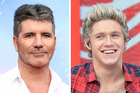 Simon Cowell and Naill Horan. Photo / AP, Getty Images