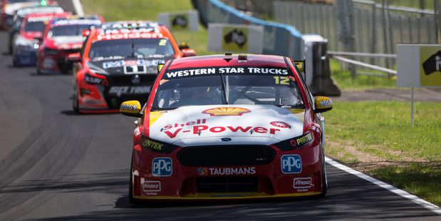 Fabian Coulthard finished sixth at the Bathurst 1000. Photo / Supplied