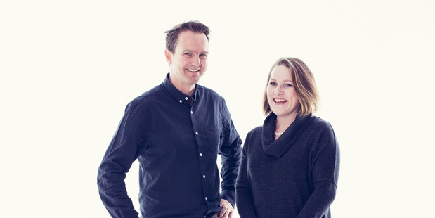 Method Recycling founders Steve and India Korner.