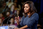 Michelle Obama said she was shaken by the Trump she saw in the Access Hollywood video. Pictures / AP