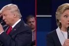 Candidates debate Trump supporters