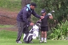 Anahera Koni shot a hole-in-one at Island Park Golf Club, Dunedin, on Saturday at the age of 6