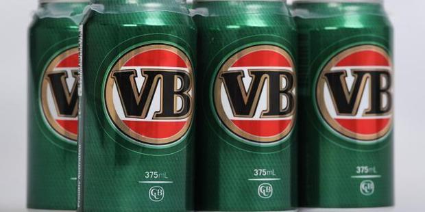 The humble VB tinnie. Photo / news.com.au