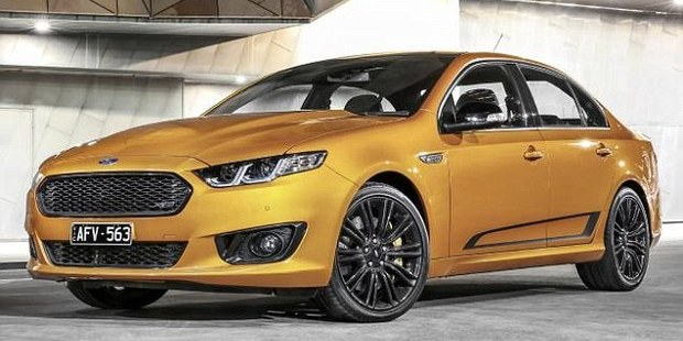 Dealerships are charging excessive prices for the last ever Ford Falcon V8 sedan to come off the production line. Photo / Supplied