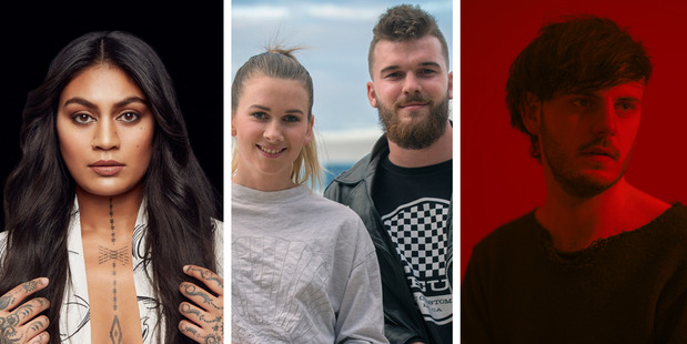 Loading Aaradhna, Broods and Maala are among the front-runners for the VNZMAs. Photos / Nick Reed, Supplied