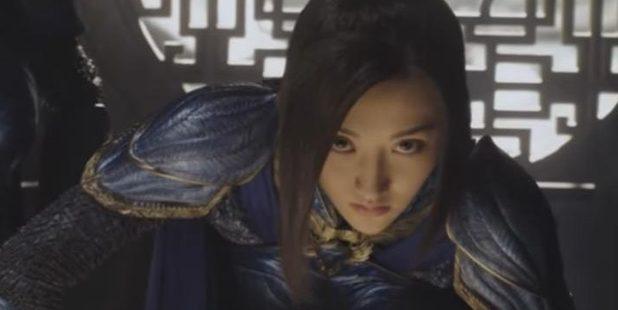 Jing Tian in The Great Wall. Photo / Youtube