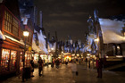 From the entrance to Hogsmeade, to each shop and attraction, The Wizarding World of Harry Potter at Universal Orlando Resort is a unique theme park experience. Photo / Universal Orlando