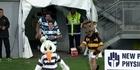 Auckland players get jaffa welcome to Taranaki game