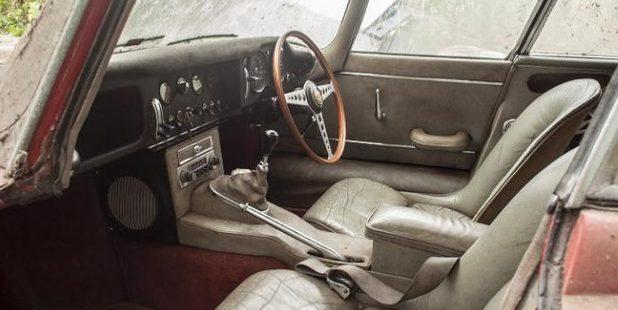 The 1964 Jaguar E-Type.
