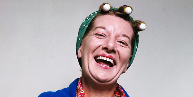 Jean Alexander, who played Coronation Street's Hilda Ogden, has died. Photo / ITV