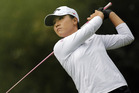 Lydia Ko opened with a 75 in Korea. Photo / AP