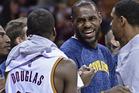 Cleveland Cavaliers forward LeBron James. Photo / AP