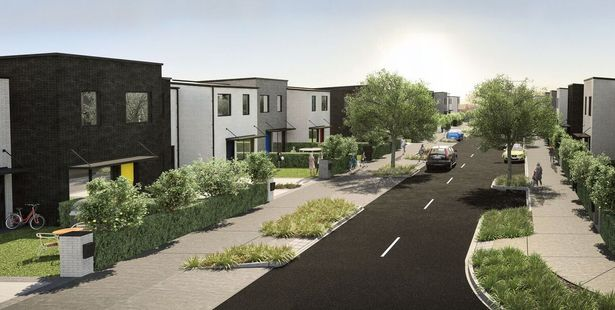 Terraced housing is planned at Market Cove.