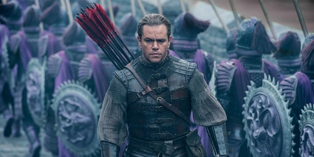 Matt Damon stars in The Great Wall. Photo / Youtube