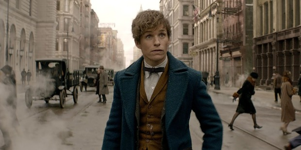 Loading Eddie Redmayne as Newt Scamander in Fantastic Beasts and Where to Find Them. Photo / YouTube