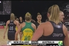 Australia have all but wrapped up the Constellation Cup for a fourth straight year after monstering the Silver Ferns at Vector Arena tonight.