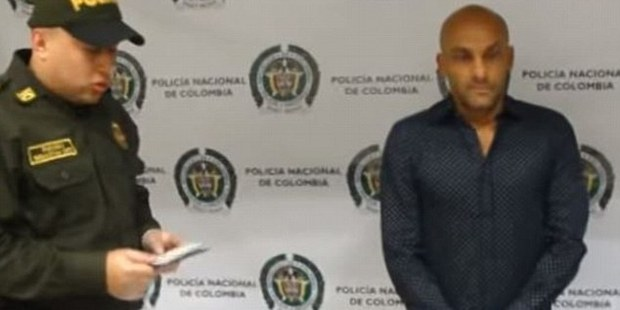 Osorio allegedly tried to conceal the drugs in his underwear before heading to Spain. Photo / YouTube