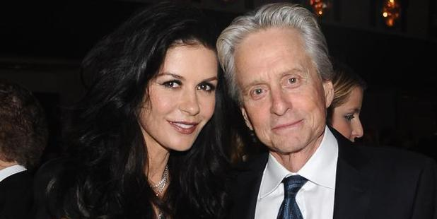 Sean Penn isn't the only one. Michael Douglas and Catherine Zeta Jones have a 25-year age gap. Picture: Stefanie Keenan/Getty Images