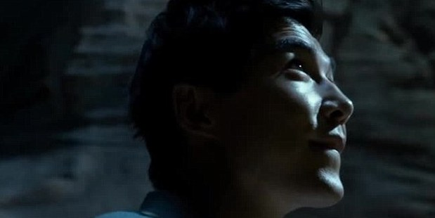 Things are looking up: Ludi Lin plays Black Ranger Zack. Photo / YouTube
