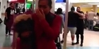 Watch: Surprise proposal for flight attendant at Auckland airport