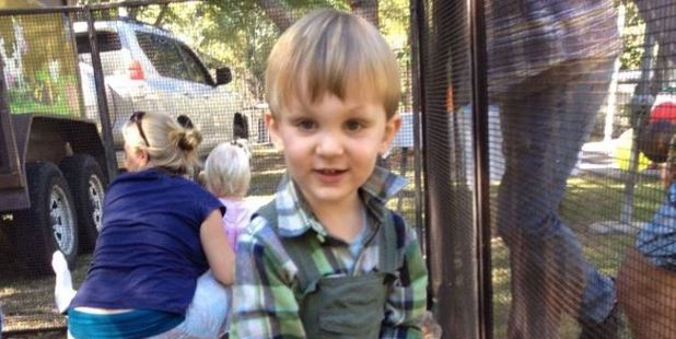 Giles Campbell admits it's unclear what his 2-year-old son Eli's disabilities will be after the toddler was bitten by the snake. Photo / via GoFundMe