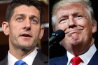Donald Trump has accused House Speaker Paul Ryan of being a