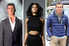 Simon Cowell and Nicole Scherzinger have spoken about their fears, while Bear Grylls is urging stars to be more savvy.