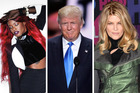 Azealia Banks and Kirstie Alley are among the stars ditching Trump. Photos / AP, supplied