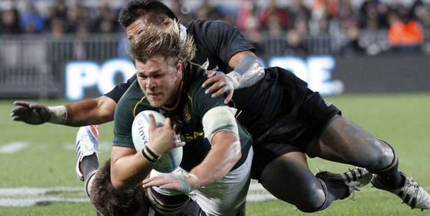 South African number 8 Duane Vermeulen.
