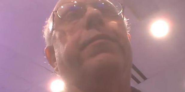 Loading NYC Democratic Election Commissioner Alan Schulkin on hidden camera. Photo: Screengrab from veritasvisuals / YouTube