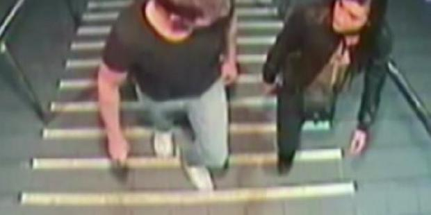 Loading CCTV footage shows Gable Tostee and Warriena Wright on the night she fell from his Surfers Paradise apartment.