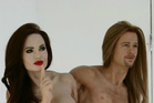 Brangelina memorial nude waxwork sculpture. Photo / eBay